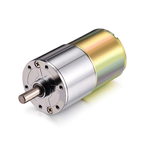 uxcell DC 12V 30RPM Micro Gear Box Motor Speed Reduction Electric Gearbox Centric Output Shaft