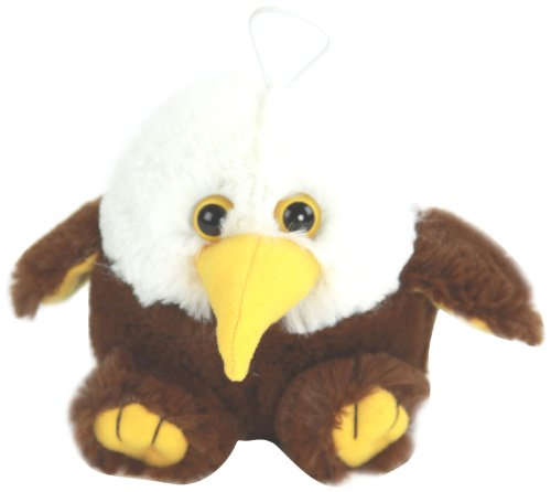"Purr-Fection Freedom Cushy Critter Eagle 5"" Plush - 1"