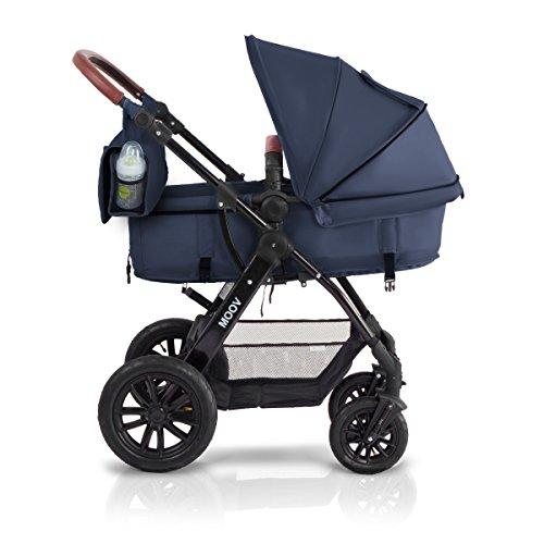 KinderKraft Moov Multi Kinderwagen Kombikinderwagen 3in1 mit...