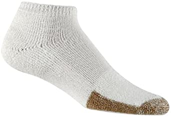 Thorlo Men's Tennis Micro-Mini Crew Sock, White, 9