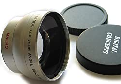 Super Wide Angle 0.5x AF Lens for 37mm Filter Thread with Macro