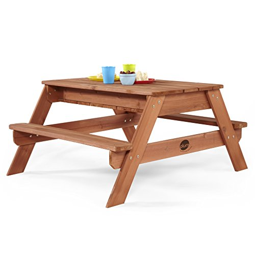 Plum Surfside Wooden Sand and Water Table (Natural)