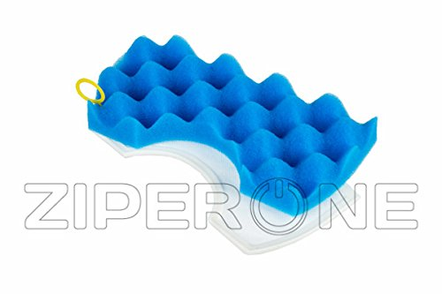 Service Market Brand OEM New BLUE FOAM MICRO DUST FILTER Exactly like Original for SAMSUNG Vacuum CLEANER DJ97-01040C Foam Rubber part number SM00000019737A (Vacuum Cleaner Rubber compare prices)