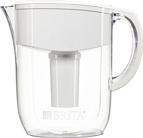 Brita-10-Cup-Everyday-BPA-Free-Water-Pitcher-with-1-Filter-White