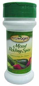 """Mrs. Wages Mixed Pickling Spice Seasoning (1.75 shaker bottle)"
