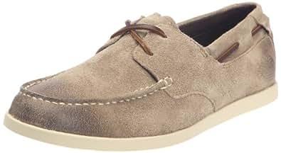 Timberland Inspired Classic 2-Eye, Men's Slip On Shoes, Brown, 7 UK
