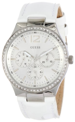 Guess Ladies Analogue Watch W11586L3 with Silver Dial