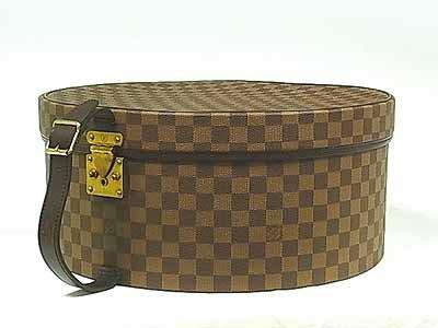 (ルイヴィトン)LOUIS VUITTON ダミエ 帽子ケース[ボワットシャポー 40] N48097 並行輸入品
