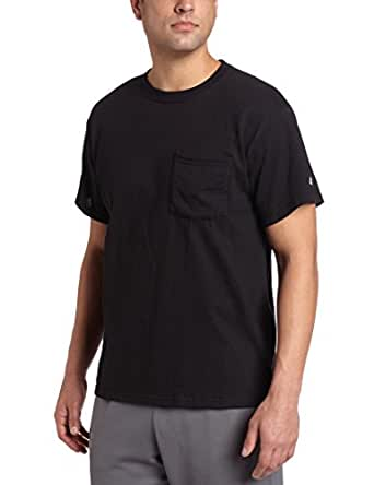 Russell Athletic Men's Pocket Tee, Black, Small