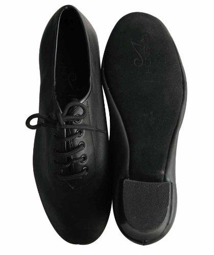 HenryG Men's Cuban Heel Latin Salsa Dance Shoes, Men's Ballroom Dance Shoes HGB-4162