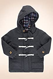 Autograph Wool Blend Hooded Duffle Coat [T88-9046A-Z]