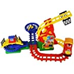 Flip Track Action Fun Train Set For Kids