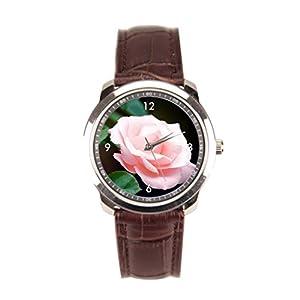 sanYout Wrist Watch Stores Light Leather Watch Strap Close Shot Luxury Wrist Watches Jamfoto