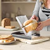 Lakeland Fresh Bread EvenSlice Loaf Slicer (7 Thicknesses) & Crumb Catcher