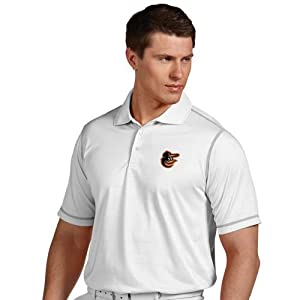 Baltimore Orioles Icon Polo (White) by Antigua