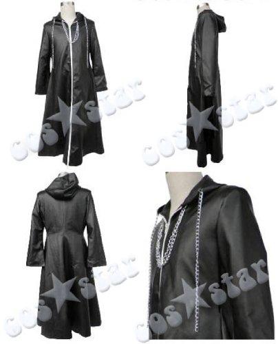 キングダムハーツ2 13機関風のコート コスプレ 男女XS~XXXLサイズ 完全オーダメイド対応可能