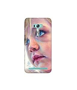 Kolor Edge Printed Back Cover for Asus Zenfone Selfie - Multicolor (4400-Ke11042ZenSelfieSub)