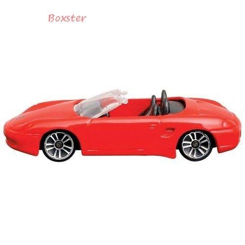 MAISTO-Porsche-Boxster-Cabrio-164-rot
