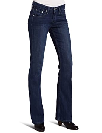 Levi's Juniors 518 Superlow Bootcut Jean, Summer Rain, 3/26 M