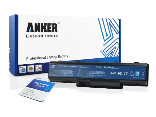 Anker New Laptop Battery for Acer Aspire 5517 Aspire 5532 Aspire 5516 Aspire 5532 Aspire 5732Z Gateway NV53 NV52 NV54 NV59 NV58 Series; Fits MS2274 AS09A61 AS09A31 AS09A41 AS09A51 AS09A56 AS09A61 AS09A71 AS09A73 AS09A75 AS09A90 AS09A36 AS09A70 [Li-ion 6-cell 4400mAh]