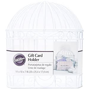 Wedding Gift Card Amazon : Amazon.com: Wilton Reception Gift Card Holder, White: Wedding Card Box ...