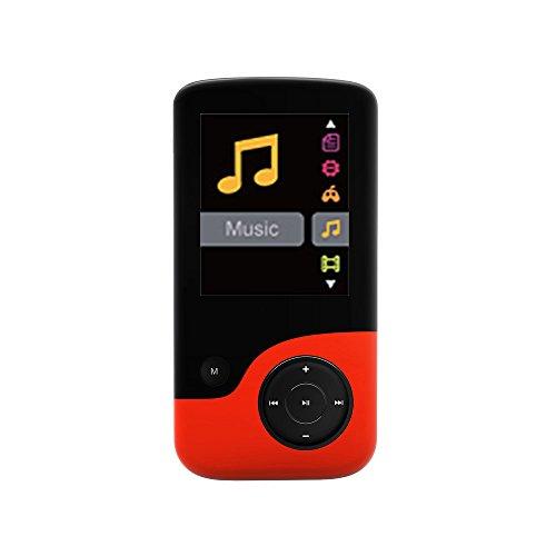 Crypto MP1800 8 GB, lettore MP4 Q2 con Radio FM, videocamera, registratore vocale e Slot per scheda Micro SD
