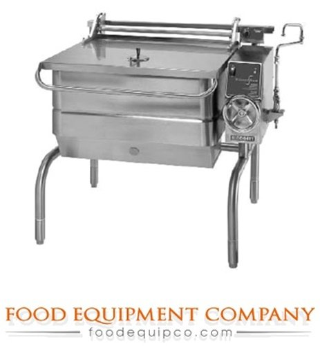 Blodgett 30G-BLT Braising Pan Gas 30-gallon capacity manual tilt 104,000 BTU