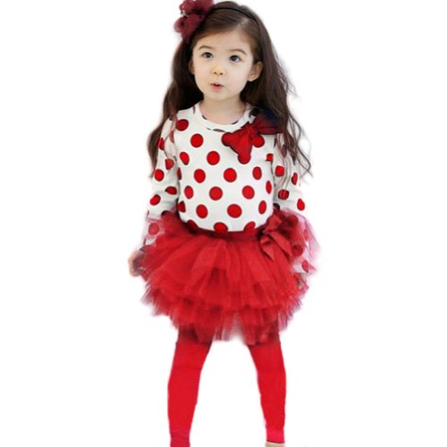 Red Baby Tutu front-123230