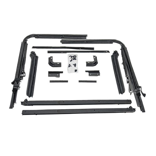 Rugged Ridge 13510.01 Soft Top Replacement Hardware (Jeep Yj Top compare prices)