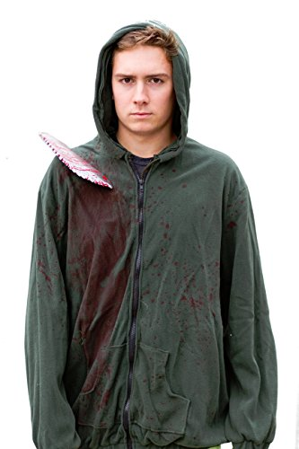 [Circular Saw Costume Hoodie Funny Halloween Costumes Sweatshirt- Standard] (Pop Culture Halloween Costume Ideas)