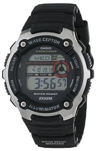 "Casio Men's WV200A-1AV ""Waveceptor"" Watch with Black Band"