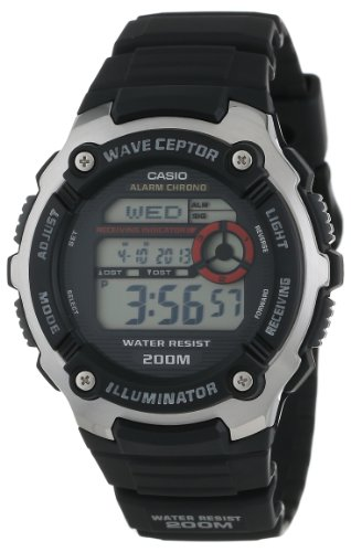 "Casio Men'S Wv200A-1Av ""Waveceptor"" Watch With Black Band"