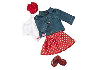 """Our Generation Jeans Can Come True Doll Clothes and Accesories fits most 18"""" Dolls by ToyCentre (English Manual)"""