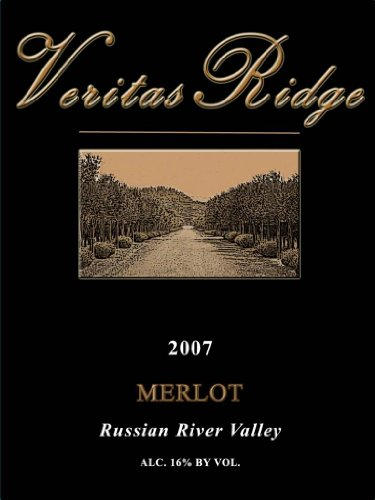2007 Veritas Ridge Russian River Merlot 750 Ml