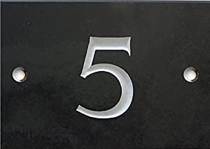 Slate Numbers - 1 to 20 (select your number here) - number 5 Same Day Dispatch!!!!