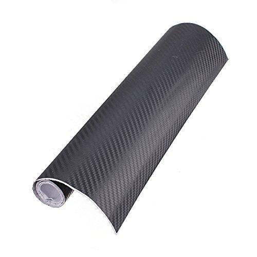 toogoor-12x603d-film-vinyle-tuning-carbone-thermoformable-adhesif-autocollant-30x152cm-noir