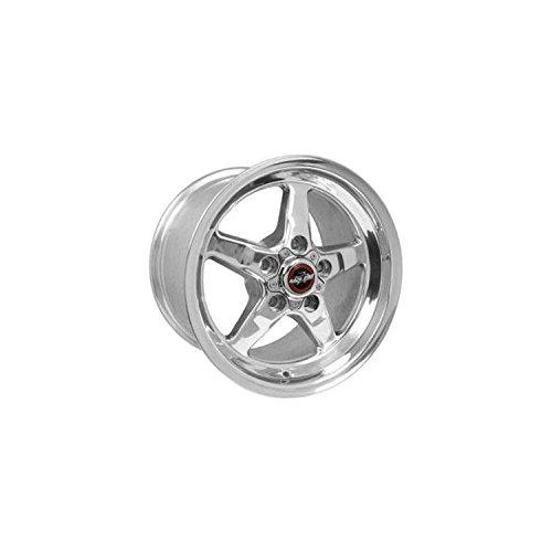 Race Star Wheels 92 Drag Star Polished Aluminum 17x9.5 Corvette 5x4.75 (Race Star Drag Wheel compare prices)