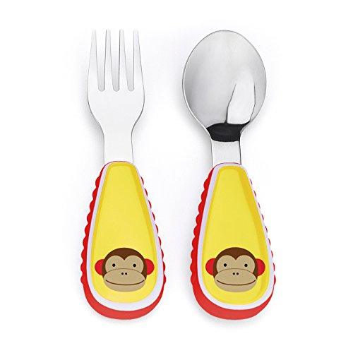 Skip Hop Zoo Utensil Set, Monkey