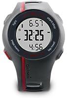 Garmin Forerunner 110 avec ceinture cardio - Montre GPS de running - Noir/Rouge