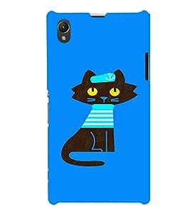 EPICCASE Captain Cat Mobile Back Case Cover For Sony Xperia Z1 (Designer Case)