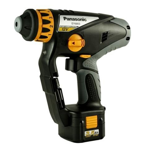 cordless 12v drill panasonic 12v cordless rotary hammer drill driver kit ey6803gqw for. Black Bedroom Furniture Sets. Home Design Ideas