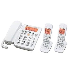 ユニデン デジタルコードレス留守番電話機 子機2台タイプ DECT2288-2-W