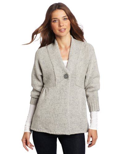 Woolrich Women's Mountainside Cardigan, Frost, X-Small
