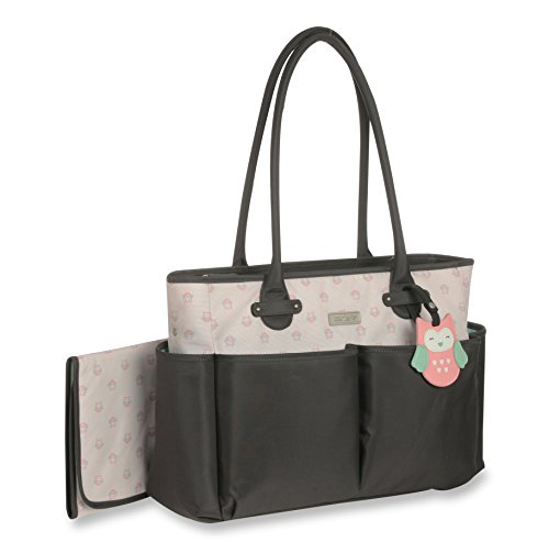 Carter's Luggage Tag Tote Print, Owl