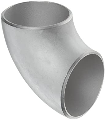 Stainless Steel 304/304L Butt-Weld Pipe Fitting, Short Radius 90 Degree Elbow, Schedule 10