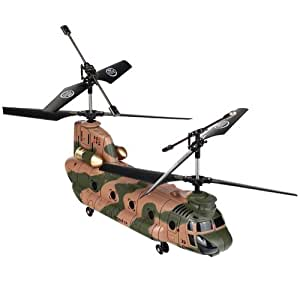 New 2013 Syma RC 2.4G 3CH Large Chinook Gyro Helicopter (Blue)