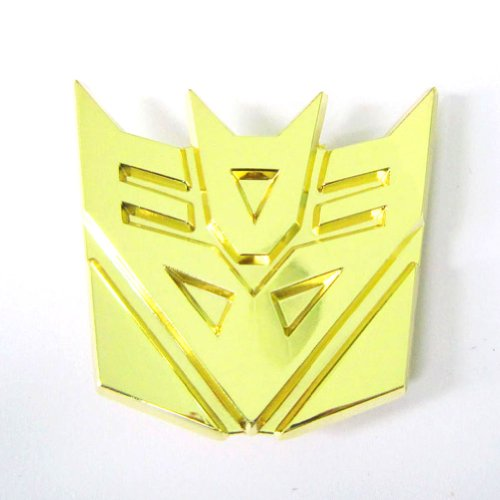 Hogar Zinic Alloy Cartoon Belt Buckle Transformer Autobot Buckles Color Gold