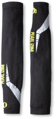Pearl Izumi Men's Thermal Lite Arm Warmer, Black/White/Yello