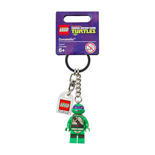 LEGO® Teenage Mutant Ninja Turtles Donatello Key Chain - 1