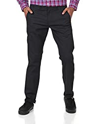 Shapes Men's Trousers (8903619198637_Black_36)